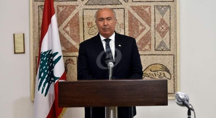 مخزومي: يجب أن نعود لمحيطنا العربي وأن نبتعد عن التدخلات الإقليمية