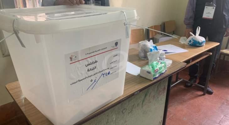 فتح صناديق الإقتراع في الإنتخابات الفرعية في طرابلس