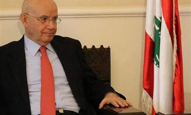 مراد عرض آخر المستجدات السياسية في الشأن المحلي والعربي مع سعد