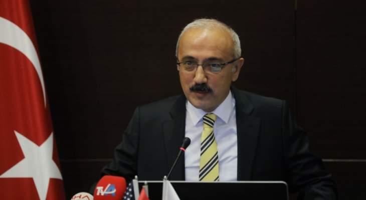 وزير المال التركي أكد أهمية التعاون الدولي لمكافحة وباء فيروس كورونا