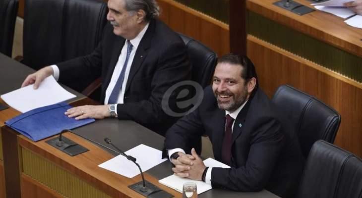 الحريري: اللقاء التشاوري ممثل في الحكومة ووزيره صوت مع الموازنة