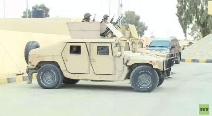 الأمن المصري يحبط عملية إرهابية في سيناء