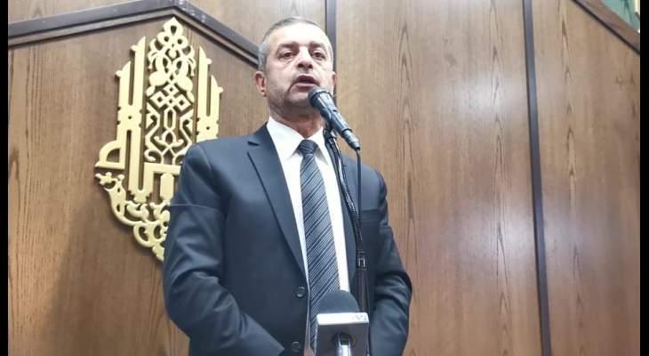 هاني قبيسي: من صمد بوجه اسرائيل وانتصر عليها لن تقدر عليه مؤامراتكم