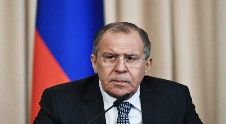 لافروف: اتفاق قره باغ الثلاثي يتم احترامه وتطبيقه من جميع الجهات