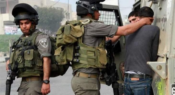 الجيش الإسرائيلي اعتقل 7 فلسطينيين بحملات دهم لمنازلهم في الضفة الغربية
