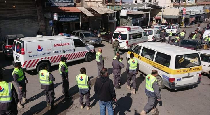 إطلاق المرحلة الثانية لتعقيم شوارع وأحياء مدينة بعلبك لمدة ثلاثة أيام