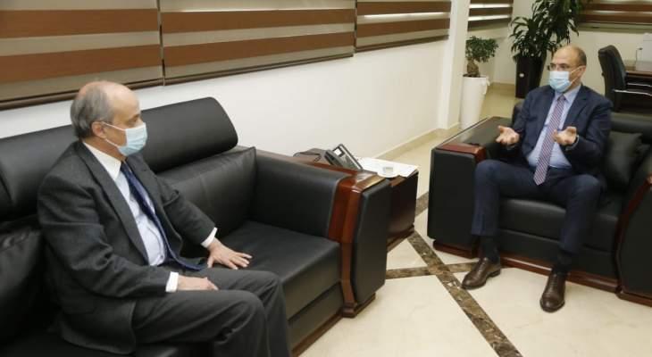 وزير الصحة: تسلمنا هبة إسبانية لدعم جهود الوزارة في مكافحة الفيروس