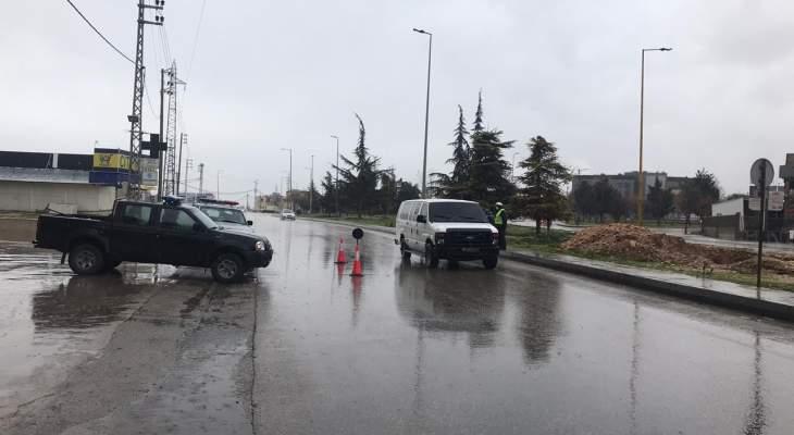 النشرة: التزام بقرار الاقفال في مدينة زحلة