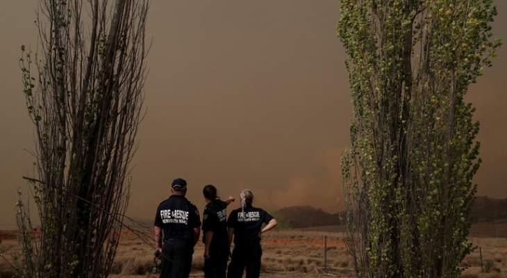 السلطات الأسترالية تعلن حالة التأهب القصوى في العاصمة بسبب الحرائق