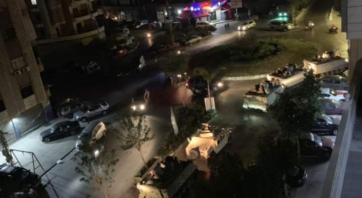 النشرة: عودة الهدوء الى منطقة الليلكي في الضاحية بعد تدخل الجيش
