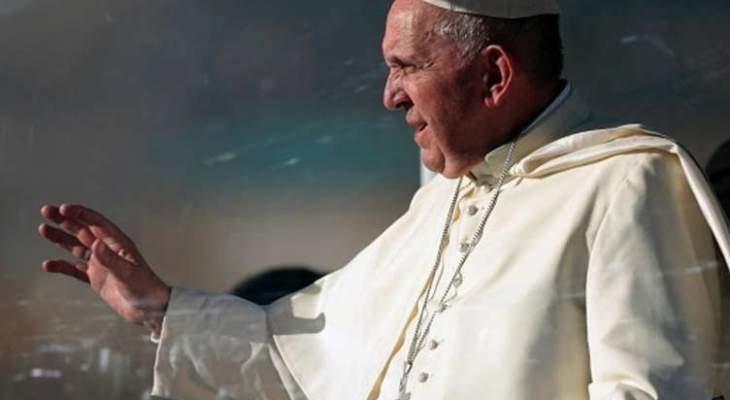 البابا فرنسيس يؤكد أنه سيتوسط من أجل حل الدولتين وحفظ هوية القدس