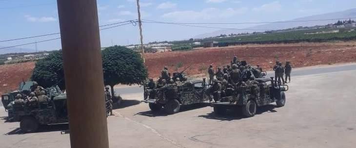 إجراءات للجيش والبلدية في الهرمل للحد من انتشار الفيروس