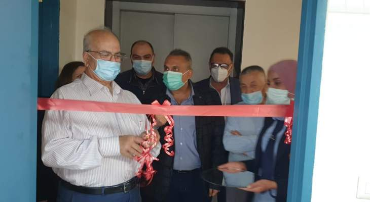 """افتتاح قسم التعقيم الجديد في مستشفى """"خلف الحبتور"""" ببلدة حرار العكارية"""