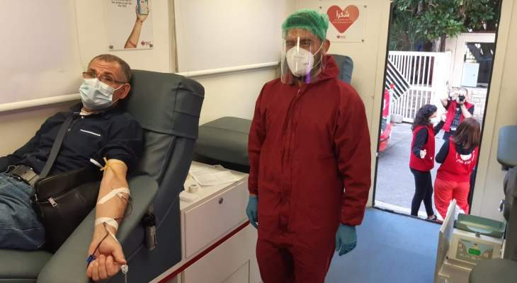 """النشرة: مستشفى حمود نظّم حملة تبرع بـ""""بلازما الدم"""" في صيدا لمساعدة المصابين بكورونا"""