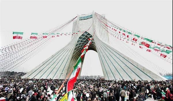 انطلاق مسيرات ذكرى انتصار الثورة الاسلامية في ايران