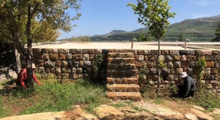أعمال صيانة في حديقة البطاركة تمهيدا لفتحها أمام الزوار