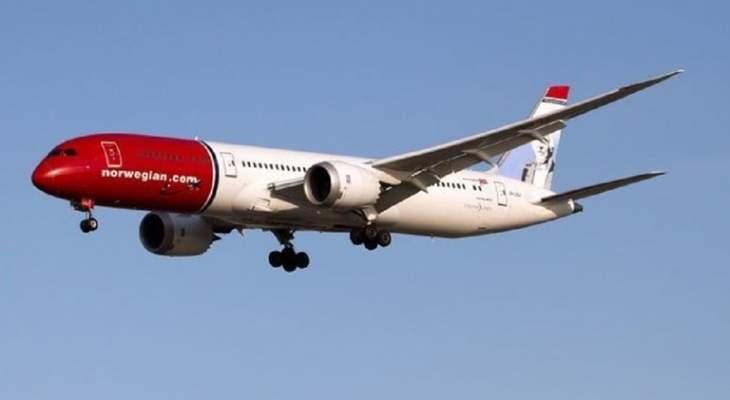 """ذا ديلي ميل: طائرة ركاب نرويجية تصطدم بسياج بمطار """"غاتويك"""" في لندن"""