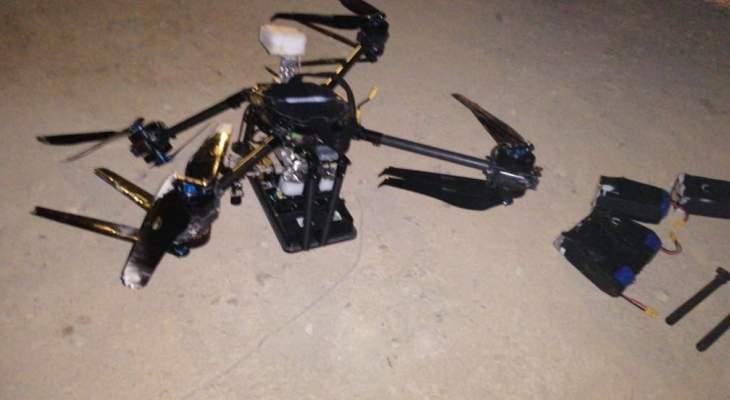 اصابة 3 اشخاص بشظايا جراء انفجار الطائرة الاسرائيلية في الضاحية