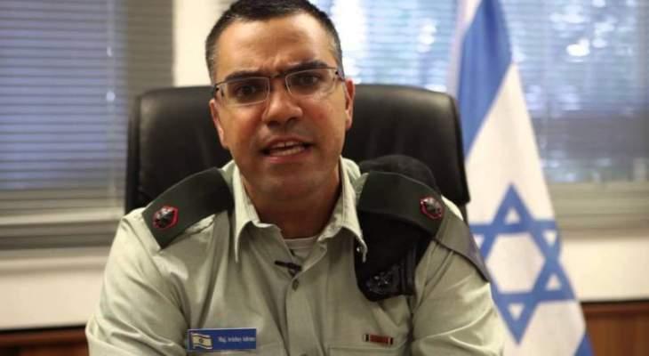 أدرعي: إطلاق نحو 50 قذيفة صاروخية من غزة باتجاه إسرائيل والقبة الحديدة اعترضت 20 منها