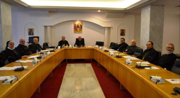 مجلس أساقفة الروم الكاثوليك: لفصل الشأن السياسي عن الشأن الكنسي وحفظ حق الطائفة في التمثيل بأكثر من وزير