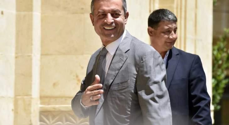 قبيسي: جزء من معاناة لبنان الاقتصادية هي بسبب الحصار الخارجي
