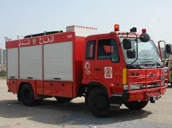 فرق الدفاع المدني تخمد حريقًا نشب في أحد المحال التجاية في بلدة غزير