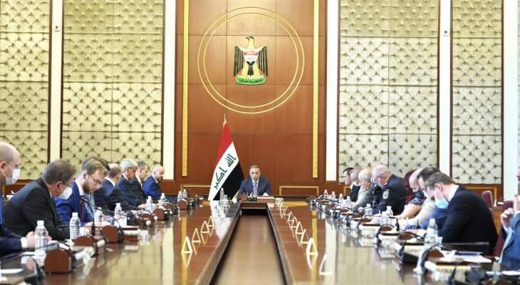 الكاظمي أكد توفير الظروف الملائمة لتكون نتائج الانتخابات معبرا عن إرادة العراقيين