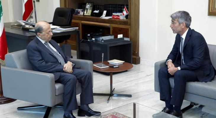 الرئيس عون يطّلع من وزير الطاقة الجديد على الخطوط العريضة لخطة عمله والحلول الممكنة لمعالجة الأزمات