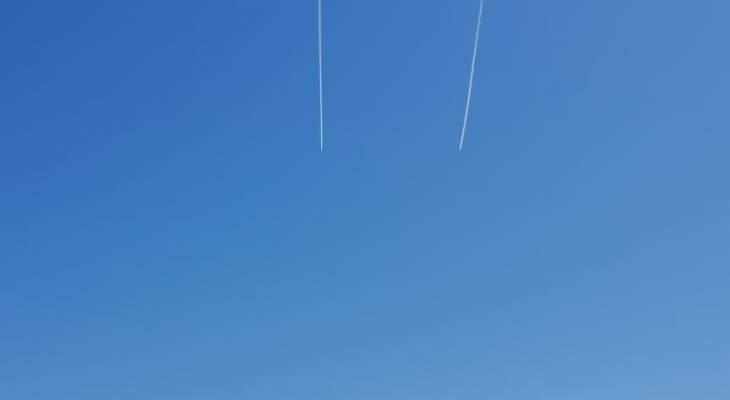 النشرة: تحليق للطيران الحربي الإسرائيلي فوق منطقتي حاصبيا والعرقوب