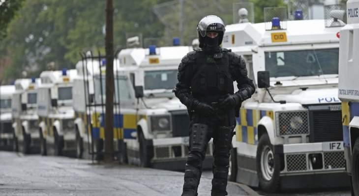 أ.ف.ب: تجدّد أعمال العنف في إيرلندا الشمالية