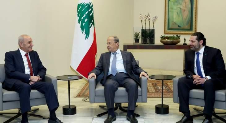 مصدر للشرق الاوسط: الرئيس عون يطيح مبادرة بري بذريعة تحالفه مع الحريري