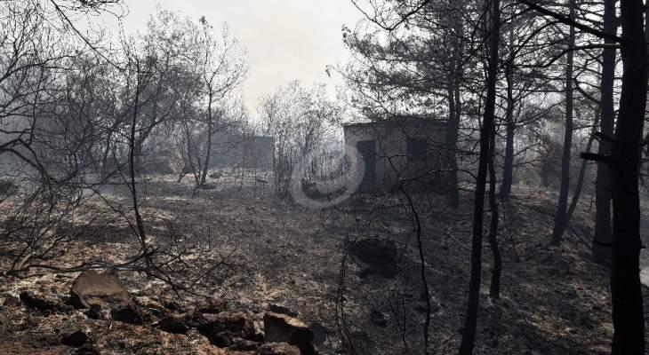 نائب رئيس بلدية مزرعة يشوع للنشرة: متخوفون من تجدد الحرائق