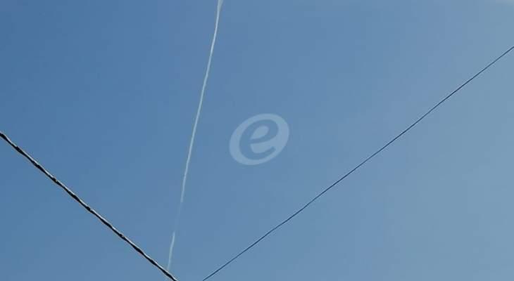 النشرة: الطيران الحربي الإسرائيلي ينفذ طلعات استكشافية فوق مزارع شبعا ومرتفعات الجولان