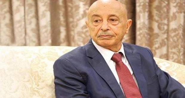 عقيلة صالح: الفترة الانتقالية التي ستتولاها السلطة المؤقتة في ليبيا ستمر بثلاث مراحل