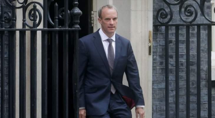 جونسون يعفي وزير الخارجية البريطاني من مهامه بعدما انتُقد بسبب إدارته للأزمة الأفغانية
