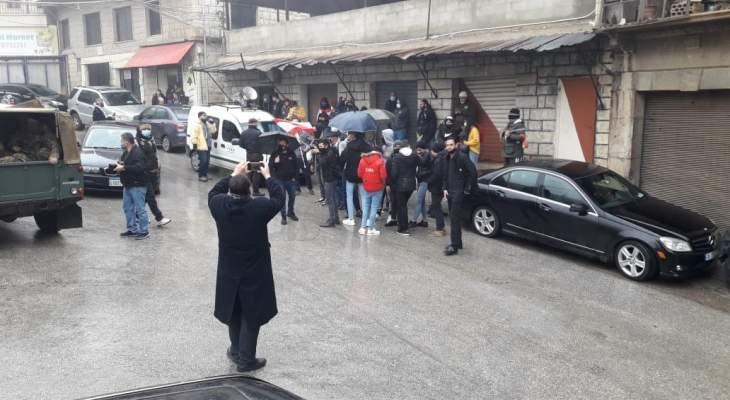 النشرة: محتجون من مرجعيون وحاصبيا والنبطية نفذوا وقفة تضامنية مع ثوار طرابلس