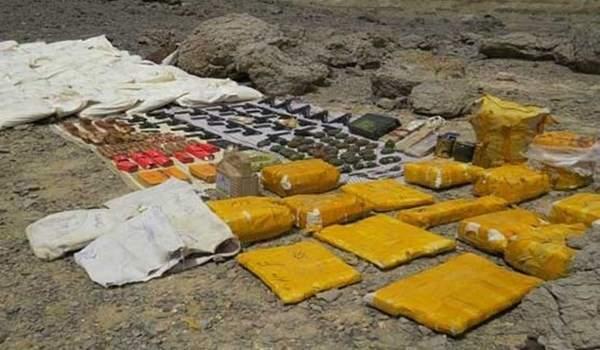 ضبط شحنة كبيرة من المتفجرات في حدود ايران الشرقية