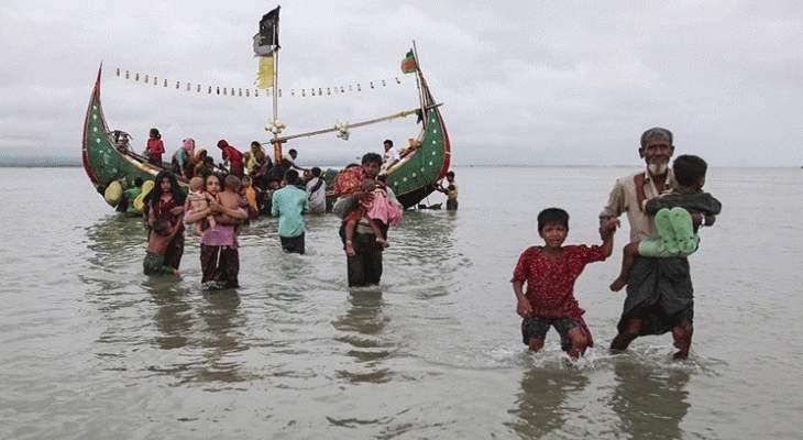 إنقاذ 119 من مسلمي الروهنغيا من الغرق بخليج البنغال