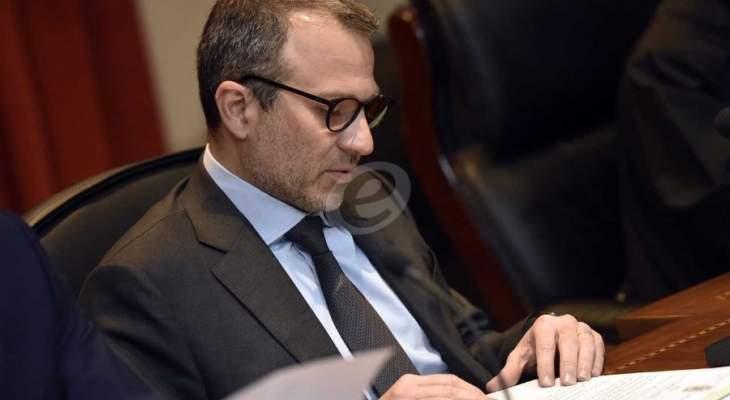 وول ستريت جورنال: مصادر أميركية تتوقع عقوبات على باسيل لدوره في تمكين حزب الله