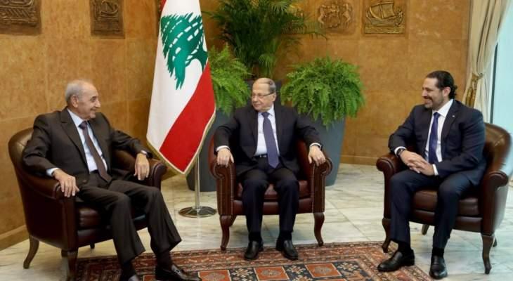 الجمهورية: مساع لاقناع بري بالدخول على خط الوساطة بين عون والحريري