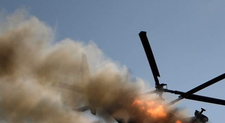 وسائل إعلام ليبية: تحطم مروحية جنوب بنغازي