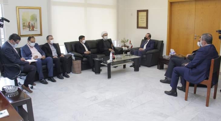 مرتضى استقبل الأمين العام للمجمع العالمي للتقريب بين المذاهب الإسلامية