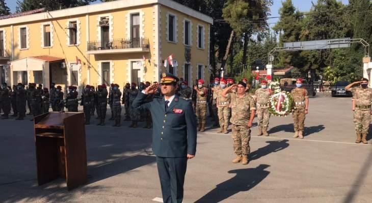 النشرة: احتفال رمزي في ثكنة أبلح العسكرية لمناسبة عيد الجيش