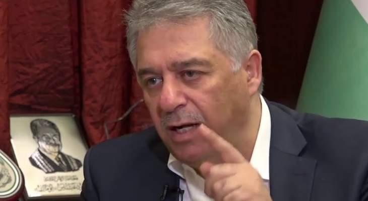 دبور: لا نريد التوطين بل أن نعامل كاللبنانيين بالنسبة إلى الحقوق الإنسانية
