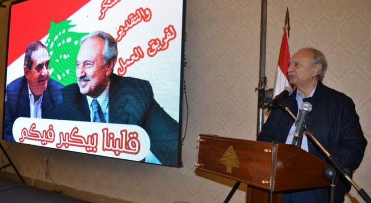 الصفدي: هدفنا الحفاظ على التوازن السياسي وطنيا ونتطلع لتحقيق الوعود بإنصاف طرابلس