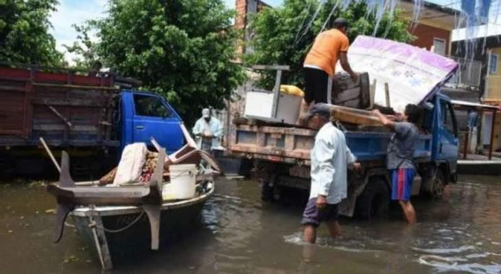 الأمم المتحدة: الفيضانات تغمر 130 ألف منزل خلال 15 يوما في فيتنام