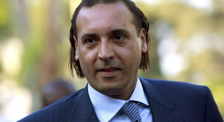 الجديد: أحد القضاة أبلغ هنيبال القذافي انه سيمضى بالسجن الفترة نفسها التي يمضيها السيد الصدر بتغييبه