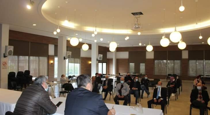 الطوارىء الإجتماعية ببلدية صيدا اجتمعت مع تجمع المؤسسات الأهلية
