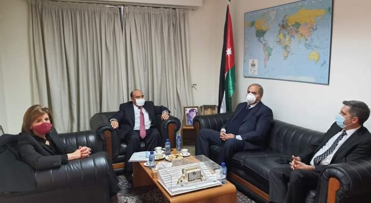 وفد من التيار الوطني الحر في زيارة الى سفير الاردن