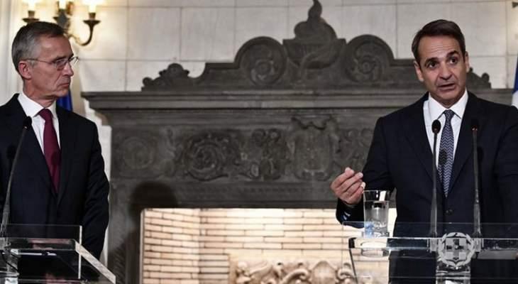 رئيس وزراء اليونان طالب الحلف الأطلسي بزيادة دورياته للتصدي لتدفق المهاجرين